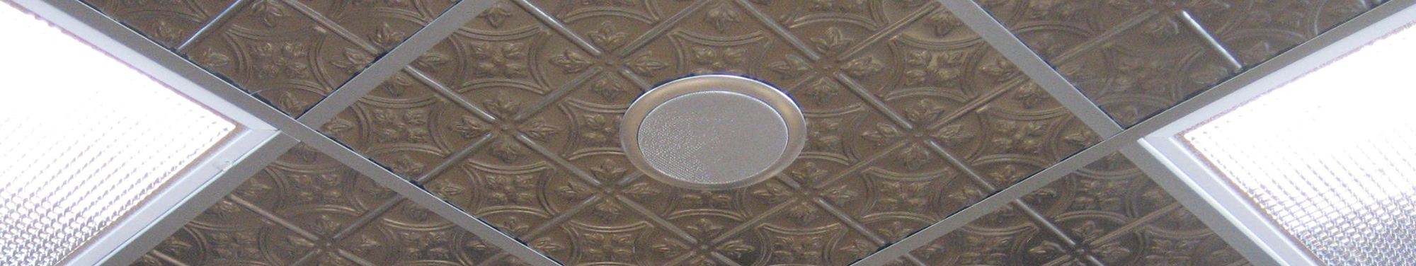 Metal Accoustical Ceiling Tiles